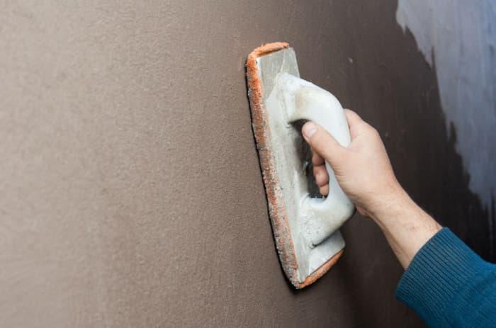 Шпаклевка для наружных работ на цементной основе