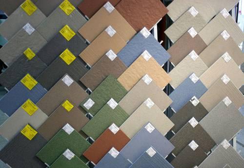 Ассортимент керамической плитки