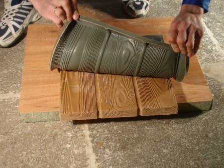 Изготовление силиконовой формы для плитки