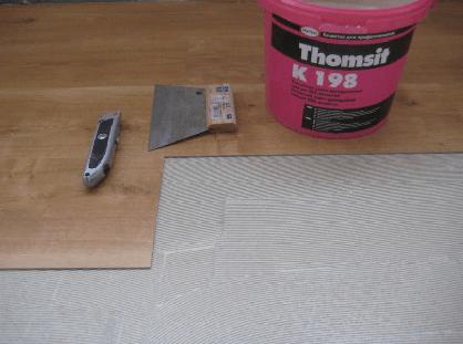 Укладка плитки ПВХ