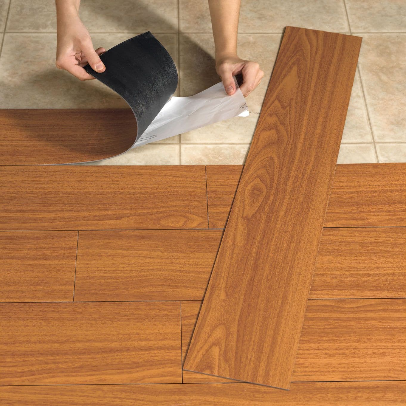 Укладка плитки на клеевой основе