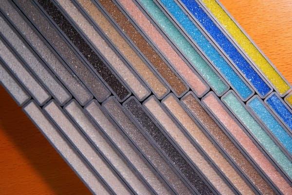 Цветовая гамма затирки для швов