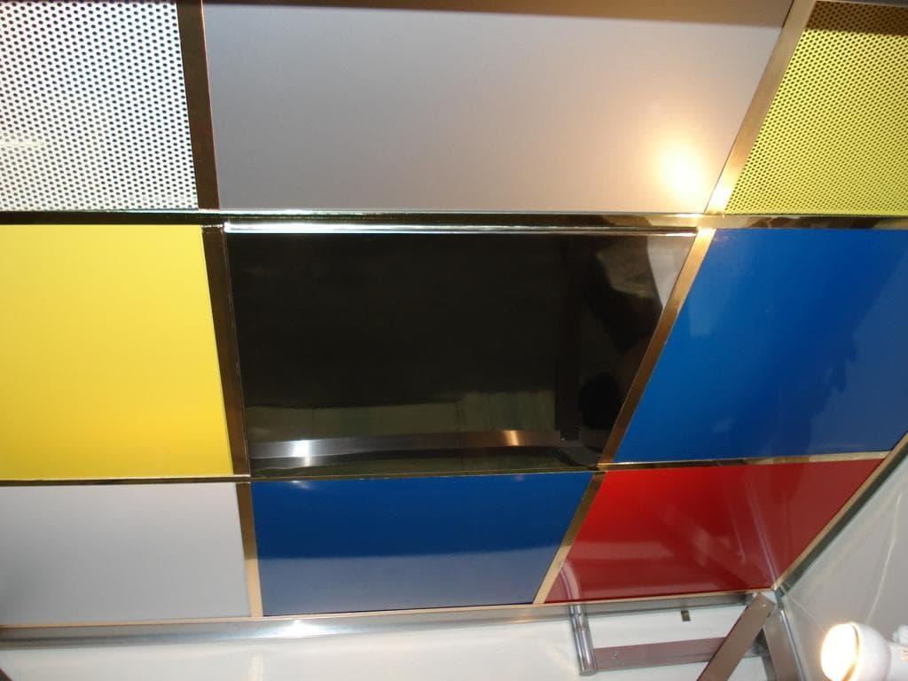 Потолок Армстронг из пластика