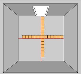 Размещение плиток