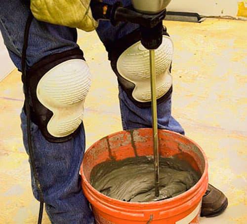 Приготовление универсального плиточного клея