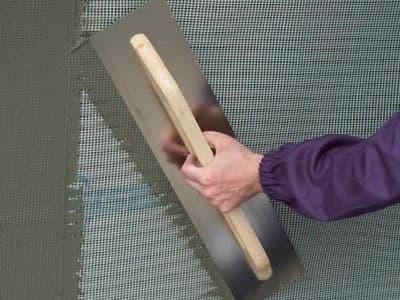 Сетка фасадная под штукатурку