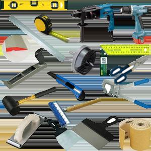 Инструменты для монтажа гипсокартонных конструкций