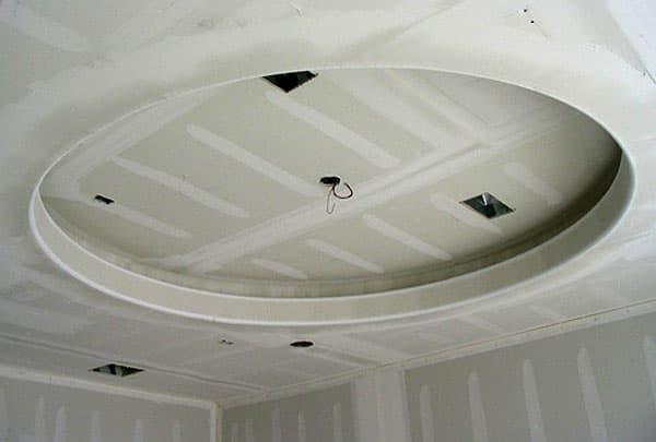 Выбор формы для потолка