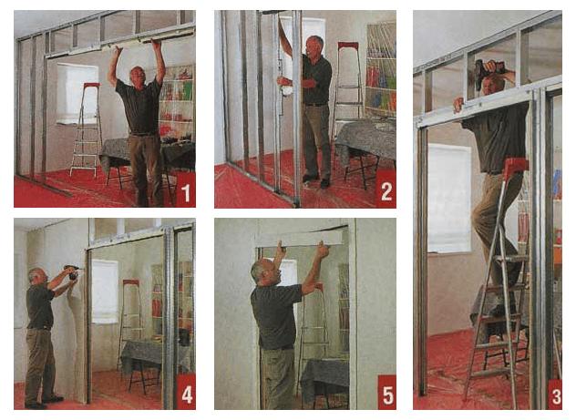 Как своими руками сделать двери-купе-пошаговая инструкция