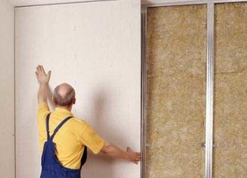 Обшивка стен листами из гипсокартона