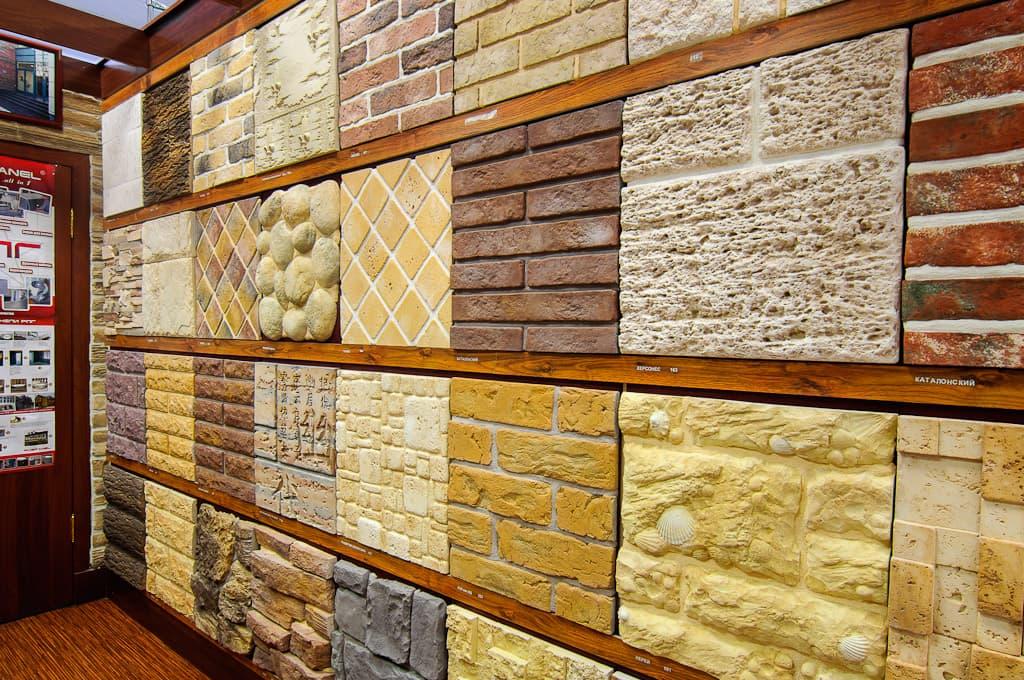 Ассортимент декоративной плитки
