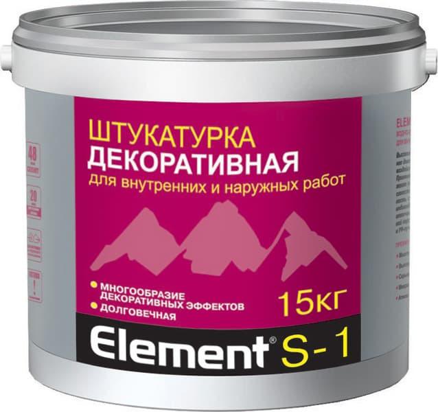 Штукатурка декоративная Alpa Element S-1