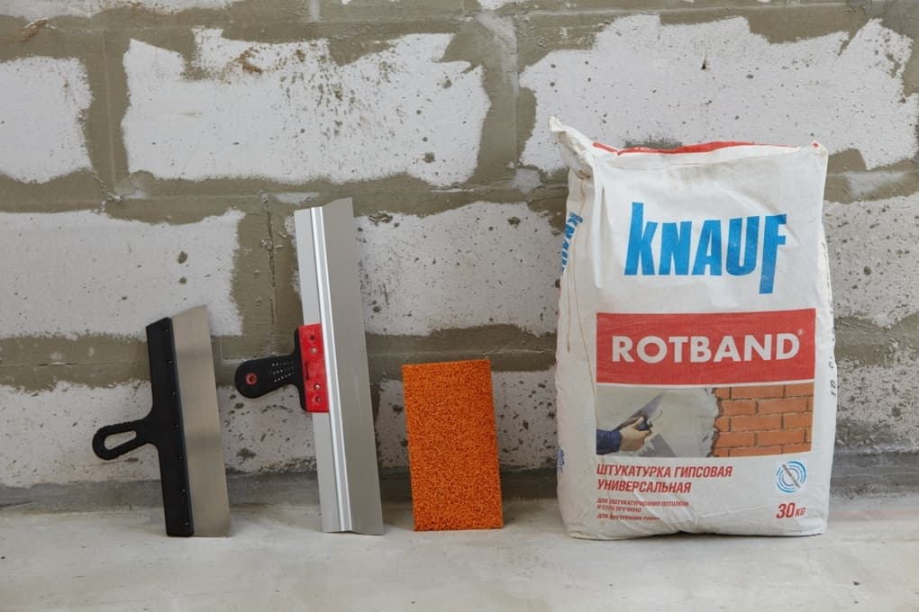 Гипсовая штукатурка Knauf Rotband