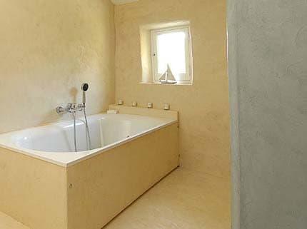 Отделка стен ванной